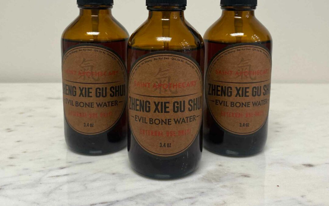 Evil Bone Water—Chinese Herbal Liniment Magic for Pain Relief