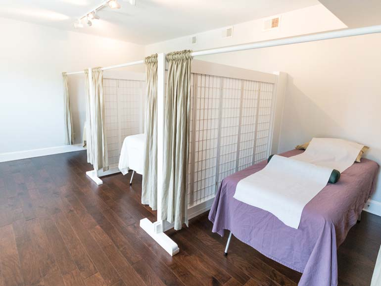 Transformational Acupuncture treatment room