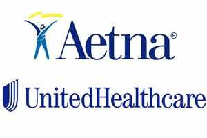 Insurance logos - Aetna and United Healthcare