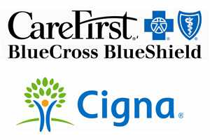 Insurance logos - Carefirst and Cigna